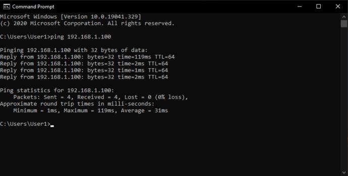 تست ارتباط با سرور لینوکس