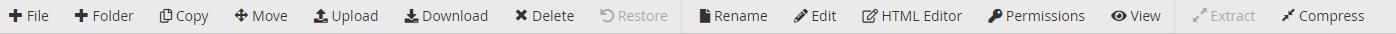 آشنایی با ابزار File Manager سی پنل