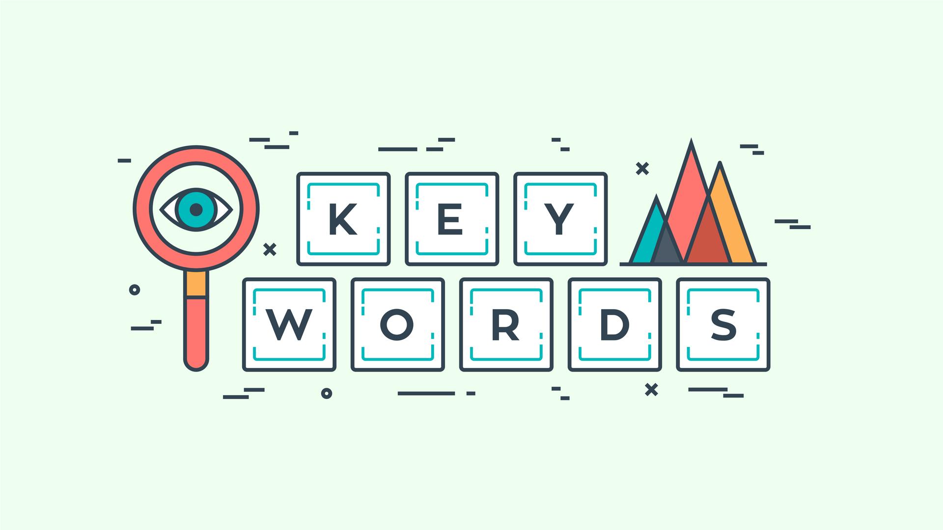 استفاده از کلمات کلیدی بلند