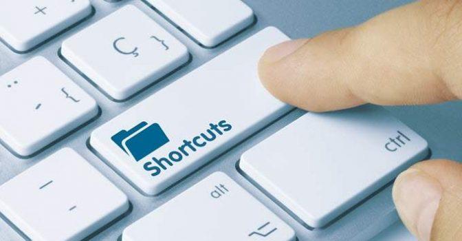 chrome shortcuts